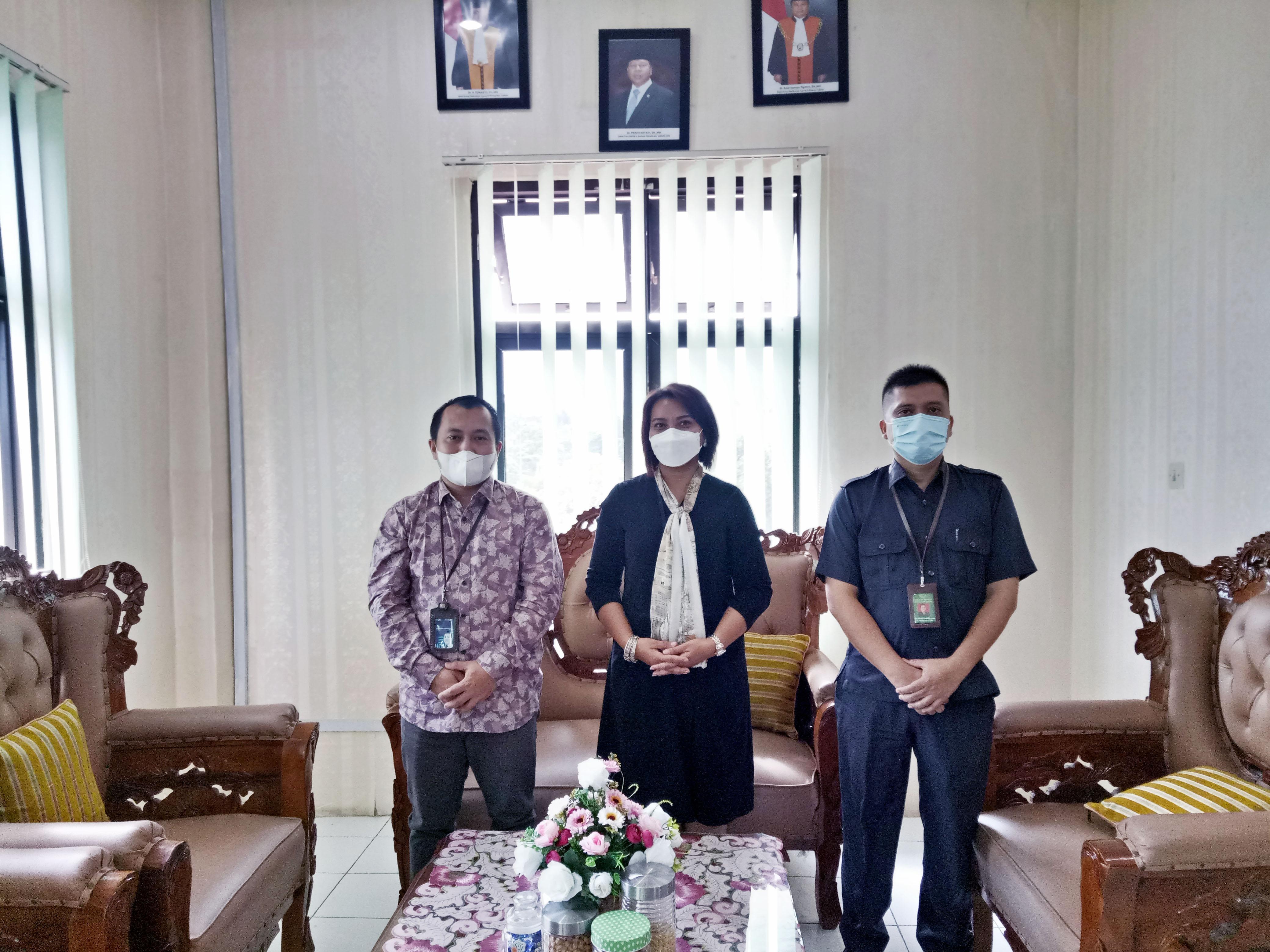 AUDIENSI BANK TABUNGAN NEGARA (BTN) DENGAN PENGADILAN NEGERI SIDIKALANG
